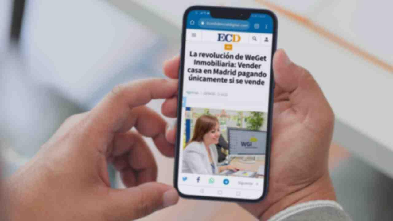 WeGet Inmobiliaria en el periódico el Confidencial Digital