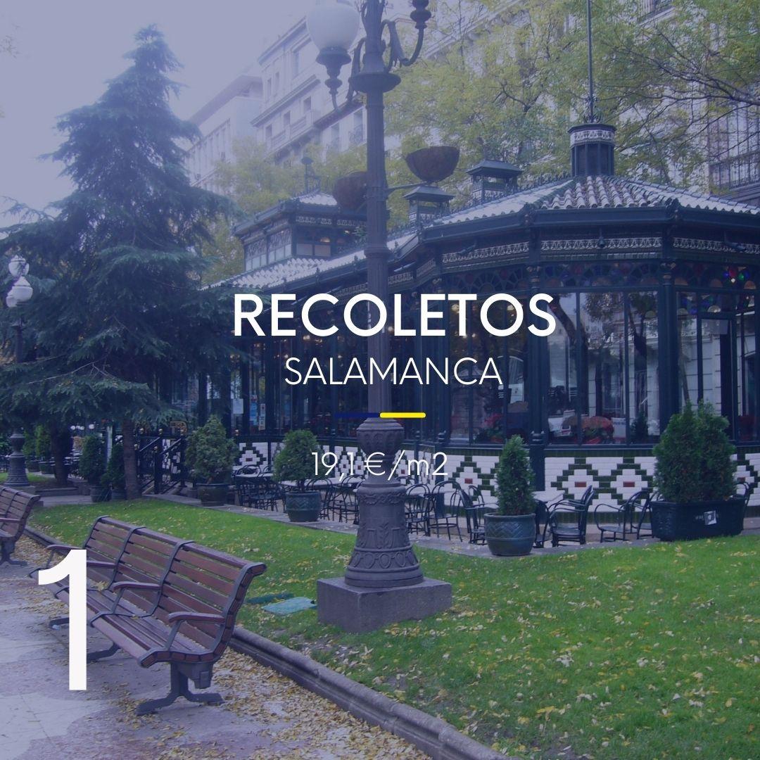 alquilar casa en Recoletos