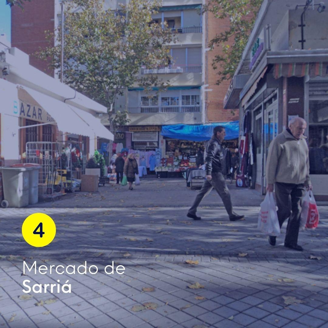 mercado de Sarriá