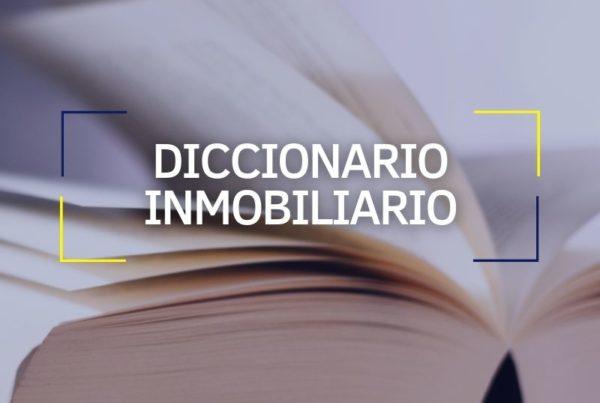 diccionario inmobiliario